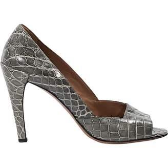 Alaia Crocodile heels