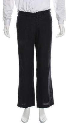 Valentino Flat Front Dress Pants