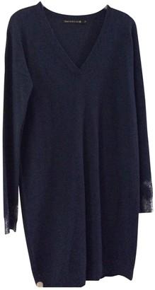 Berenice Blue Wool Dress for Women