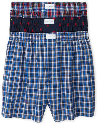 Tommy Hilfiger Plaid Woven Boxer Shorts