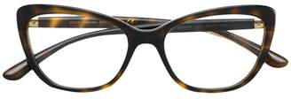 Dolce & Gabbana Eyewear cat-eye tortoiseshell glasses
