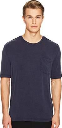 ATM Anthony Thomas Melillo Men's Sun Bleached Crew Neck Pocket T-Shirt