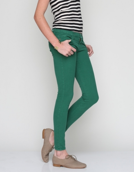 Current/Elliott Ankle Skinny In Pine