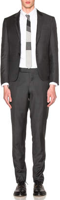 Thom Browne High Armhole Twill Suit