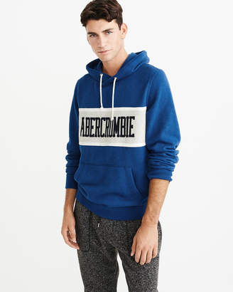 Abercrombie & Fitch Colorblock Graphic Hoodie