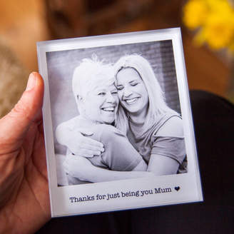 a.musing Personalised Mother's Day Photo Acrylic Block