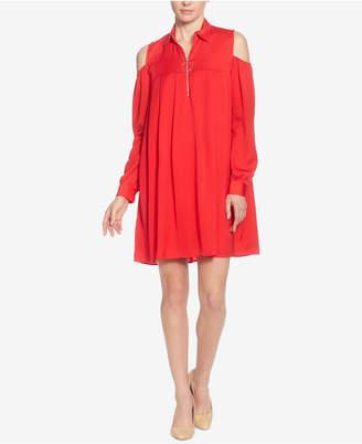 Catherine Malandrino Massima Cold-Shoulder Dress