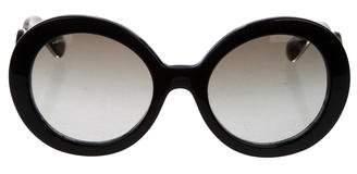 Prada Broque Oversize Sunglasses