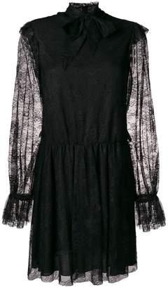 Philosophy di Lorenzo Serafini long sleeve lace dress