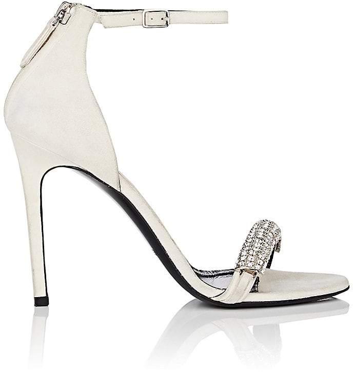 CALVIN KLEIN 205W39NYC Women's Camelle Suede Sandals