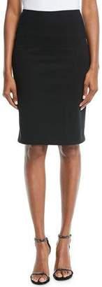 Emporio Armani Milano Jersey Knee-Length Pencil Skirt