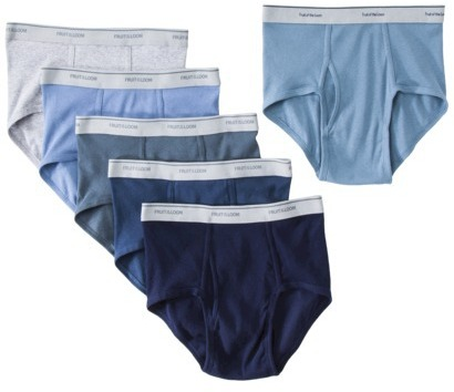 Fruit of the Loom Men's 5+1 Free Briefs - Assorted Blues