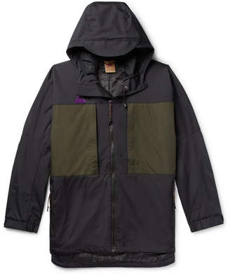 Nike Acg Colour-Block Ripstop Hooded Anorak
