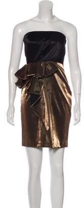 Cynthia Steffe Strapless Mini Dress
