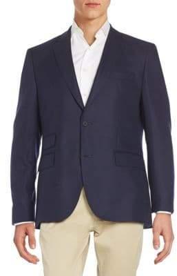HUGO BOSS Regular-Fit Stretch-Wool Sportcoat