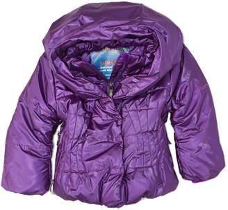 Obermeyer Girls' Kids Ingenue Purple Hooded Jacket