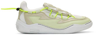 Lanvin White Top Diving Sneakers