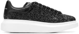 Alexander McQueen platform glitter sneakers