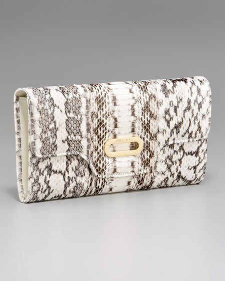 Jimmy Choo Tom Elaphe Clutch