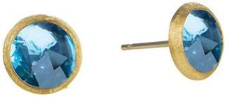 Marco Bicego Jaipur Blue Topaz Stud Earrings