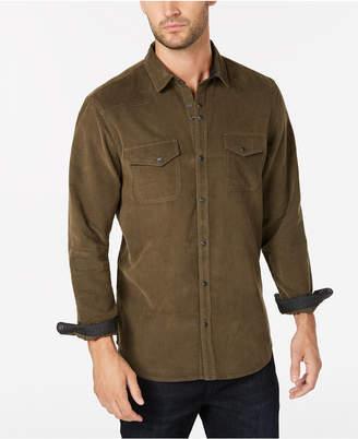 INC International Concepts I.n.c. Men's Calban Corduroy Shirt, Created for Macy's
