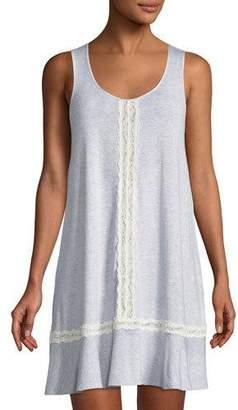 Kate Spade Lace-Trim Sleeveless Sleepshirt