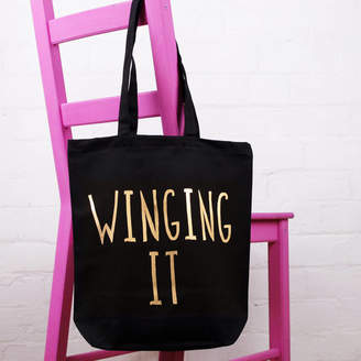 Nell Elsie & 'Winging It' Tote Bag
