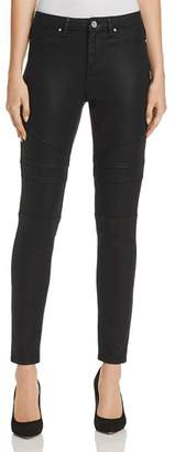 Elie Tahari Azella Moto Jeans in Black