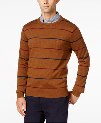 Tommy Hilfiger Men's Signature Striped Sweater $49.98 thestylecure.com