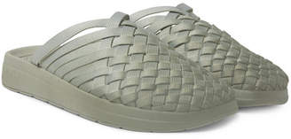 Missoni Malibu + Colony Woven Dégradé Nylon-Webbing Sandals