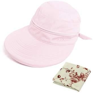 at Amazon Canada · kilofly UV Protection Wide Brim Summer Lightweight 2in1 Visor  Sun Hat 3707c4058990