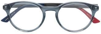 Gucci round acetate glasses