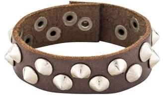Vita Fede Leather Studded Bracelet