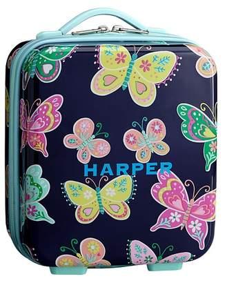 Pottery Barn Kids Hard Sided Lunch Box, Mackenzie Navy Butterfly
