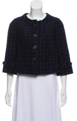 Robert Rodriguez Woven Cropped Jacket
