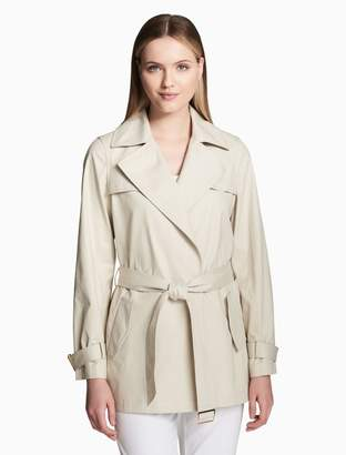 Calvin Klein belted trench jacket