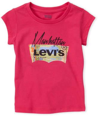 Levi's Toddler Girls) City Logo Tee
