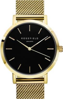Tribeca ROSEFIELD Mesh Strap Watch, 33mm