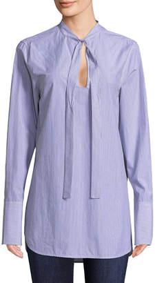 Jill Stuart Tie Boyfriend Shirt