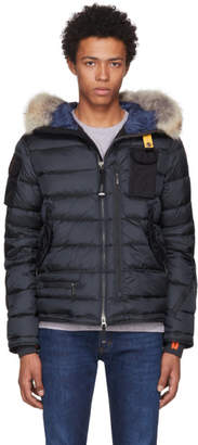 Parajumpers Navy Down Mountain Loft Ski Master Jacket