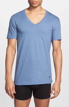 Men's Polo Ralph Lauren 3-Pack V-Neck T-Shirts $39.50 thestylecure.com