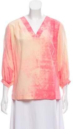 Diane von Furstenberg New Cahil Silk Blouse