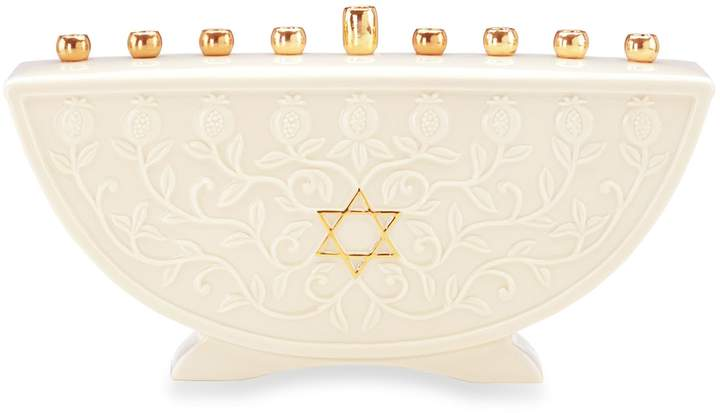 Lenox Judaica Blessings Menorah
