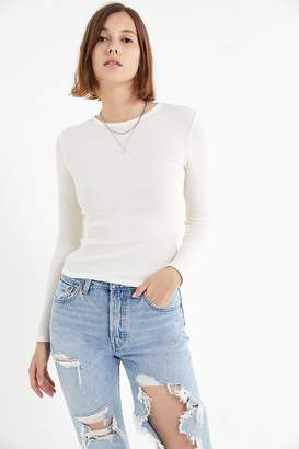 Urban Outfitters Pipa Thermal Long Sleeve Top