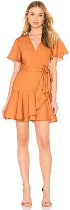 Finders Keepers Vanish Wrap Dress