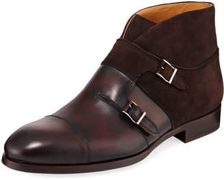 Magnanni Men's Octavian High-Top Chukka Shoes
