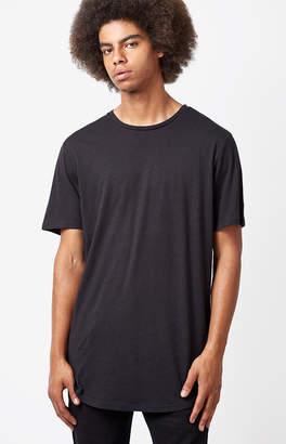 PacSun All Day Linen Scallop T-Shirt