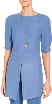 St. John Sophia Boucle Knit Tunic