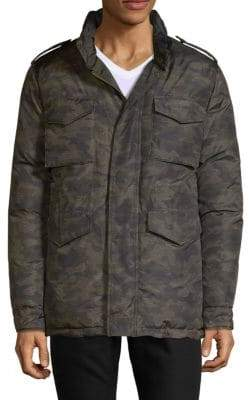 Saks Fifth Avenue Camo Down Jacket
