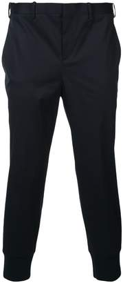 Neil Barrett fitted ankle trousers